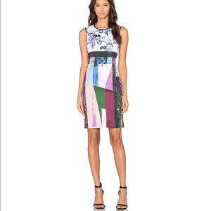 Clover Canyon -Nouveau Facade Dress in Multi